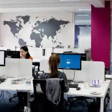 World Map Removable Vinyl Wall Sticker Wallpaper Home Office Art Decal