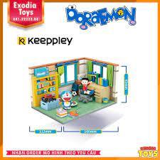 Xếp hình căn phòng của Doraemon và Nobita - Đồ Chơi Lắp Ghép Sáng Tạo -  Keepley K20402 tại Hà Nội