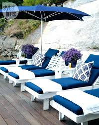 blue and white patio furniture outdoor chair cushions