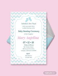 Free Invitation Templates Download Free Baby Naming Ceremony Invitation Template Download 518