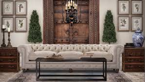 eye for design decorate with the white chesterfield sofa for elegance fort