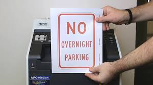 Free Signage Template Free Parking Signs