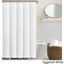 white linen shower curtain echelon home washed belgian free black and extra long curtains