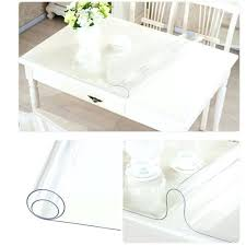 clear plastic tablecloth waterproof protector table cover bunnings round