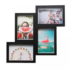 magnaframe magnetic photo frame for 4x6 prints 4 pack black freestyle photographic supplies