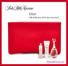 receive a free 4 pc gift with your 175 dior beauty purchase