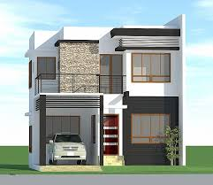 simple modern house design in the philippines for with floor plan luxury small plans e single