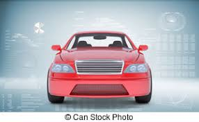 car white background front. Contemporary Car Red Car On Abstract Blue Background Front View In Car White Background Front S