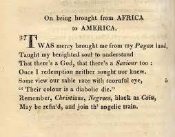 phillis wheatley african american poets african  phillis wheatley african american poets african american women and african american beauty