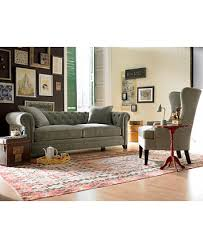 martha stewart collection saybridge sofa created for macy s with designs 1