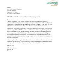 Ideas Collection Example Of Motivation Letter For Internship Program