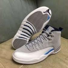 jordan shoes 12 retro. new air jordan 12 retro french blue men sports shoes jordan shoes retro
