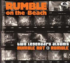 Beach Photo Albums Rumble On The Beach Cd Two Legendary Albums Rumble Rat Rumble