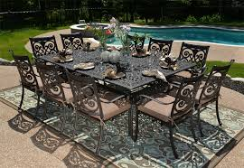creative remarkable dining tables 12 person outdoor table 60 inch rh pracmatic net 10 person patio table canada patio table seats 12