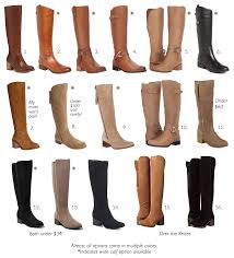 tall suede and leather boot options