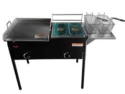 bioexcel taco cart with 18 x 16 stainless steel griddle portable outdoor heavy