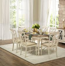 full size of chair white wooden rectangle dining table with using upholsterd seat placed on carpet