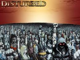 Disturbed 10000 fists wall paper