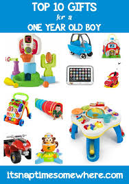Top 10 Gifts for a One Year Old Boy - Great list of gifts with review each item as well other gift suggestions. | BABIES KIDDOS Pinterest