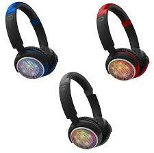 Ihip Bluetooth Headphones Light Up Ihip Wireless Bluetooth Headphones Portable Led Lights Fm Sd Loud Sound Beats