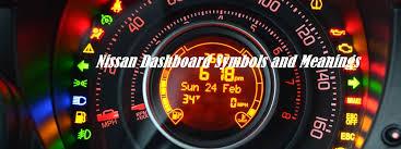 nissan dashboard symboleanings