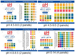 Aa Grade Ph Test Strips 2 3 4 Color Chart 0 14 4 5 9 0 4 0 8 5 Buy Ph Test Ph Test Strips Ph Paper 0 14 Product On Alibaba Com
