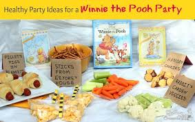 healthy winnie the pooh party ideas from confessions of an overworked mom