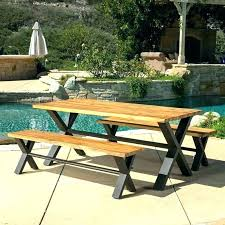 teak picnic table patio furniture used for tables melbourne