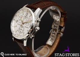 brand new tissot t17 1 516 32 silver chronograph mens designer tissot watches innovative by tradition was founded in 1853 tissot watches are today a member of the swatch group the world s largest watch producer