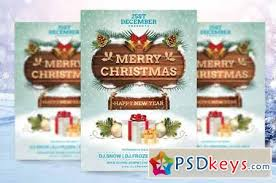 Free Christmas Flyer Templates Download Merry Christmas Flyer Template 119859 Free Download