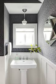 powder room with a pedestal sink ideas