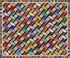 55 best Quilter's Cache Quilts images on Pinterest | Patchwork ... & Fabric Boxes - quilters cache - original by Marcia Hohn. The light & dark  grey Adamdwight.com