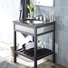 steel bathroom vanity. 24\ Steel Bathroom Vanity