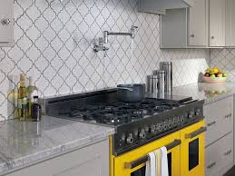 pot filler faucet for efficient use of space modern kitchen stove with granite countertop also