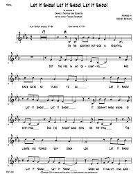 Let It Snow Vocal Rhythm Chart