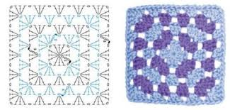 Classic Granny Square Pattern Magnificent How To Crochet A Granny Square Tutorial Crochet Filet