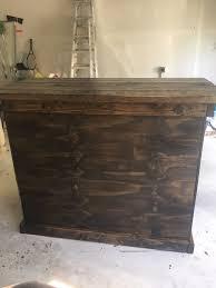 patio bar wood. Introduction: Outdoor Patio Bar With Shelf Wood
