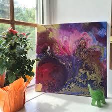 bloom by tara bach tarabachart com abstract art