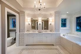 bathroom vanity lighting ideas bathroom traditional with bath chandelier crystal chandelier image by jca architects