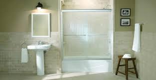 kohler bathtub doors bypass bath shower doors kohler frameless shower doors home depot