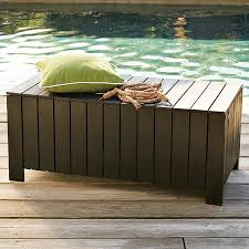 Building Built In Deck Benches Nice Storage Area  Bench Wood Bench With Storage Plans