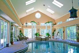 Furnitureamazing Projects Special Indoor Pool House Cost Poolhouse  Personable Best Indoor Pool House Designs For Country