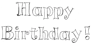 Small Picture Happy Birthday Text Wishes Cake Balloons Coloring Pages Kids Aim