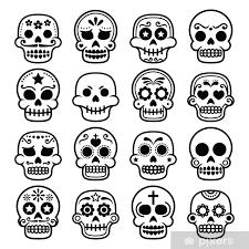 mexican sugar skull dia de
