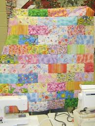 Easy Quilts for Beginners Using Precut Fabric & Scrappy Bricks Quilt Adamdwight.com