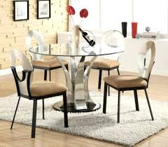 small round glass kitchen table cool round glass dining table set bedroom small black glass dining table set
