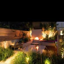 outdoor lighting small houses. beautiful feature lighting a city garden in london, u. designed by london firm charlotte rowe design outdoor small houses i