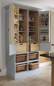 free standing food pantry cabinet elegant free standing kitchen pantry you could make something like it
