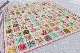 Baby Quilt Patterns Using 3 Fabrics