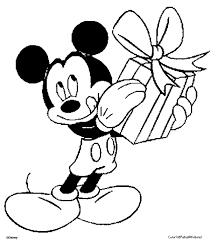 Small Picture Mickey Mouse Christmas Coloring Book Coloring Pages
